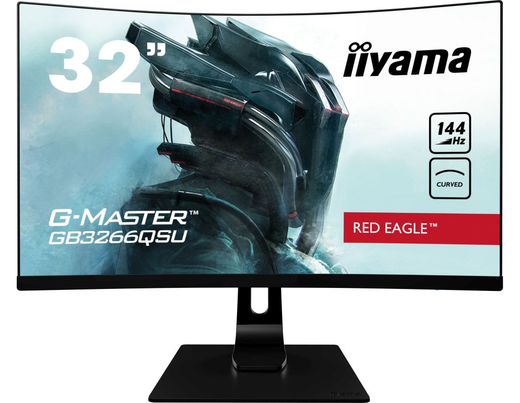 iiyama G-Master GB3266QSU-B1 Red Eagle - Test 32-calowego monitora z panelem VA QHD 144 Hz