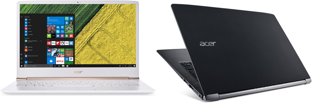 Test ultrabooka Acer Swift 5: i7-7500U Kaby Lake vs i7-6500U Skylake