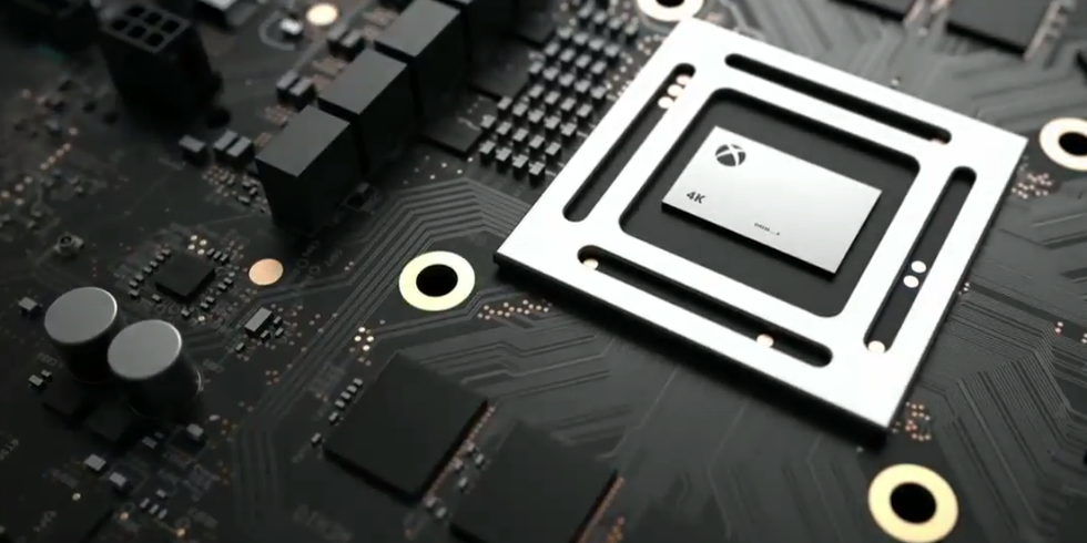 Xbox One Project Scorpio 6 TFLOPS