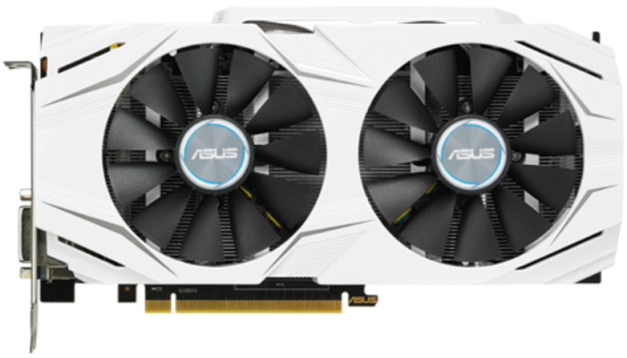 ASUS GeForce GTX 1060 3 GB DUAL OC