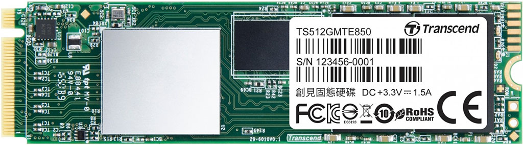 Transcend MTE850 256 GB – test