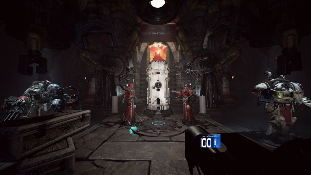 Space Hulk: Deathwing - screenshot z rozgrywki