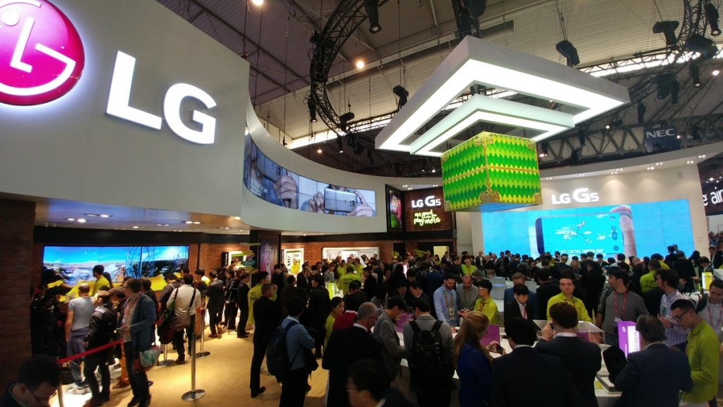 LG na Mobile World Congress 2016