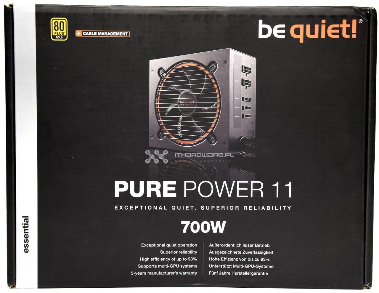 be quiet! Pure Power 11 - test
