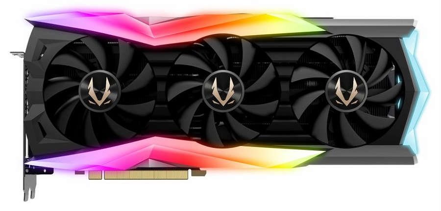 Test karty graficznej ZOTAC GAMING GeForce RTX 2080 AMP Extreme- front