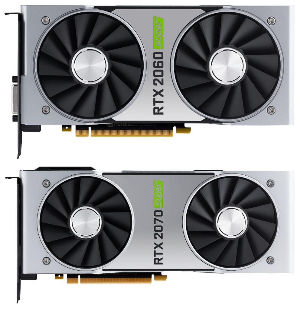 NVIDIA GeForce RTX 2060/2070 SUPER Founders Edition - front