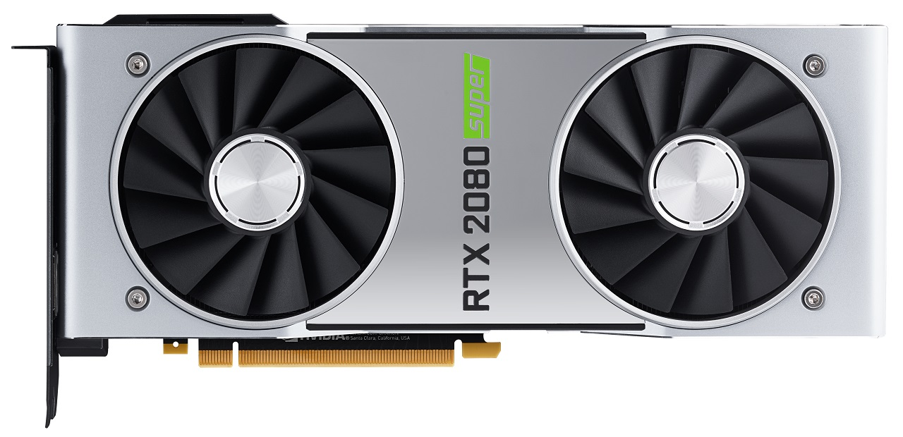 NVIDIA GeForce RTX 2080 SUPER Founders Edition - front
