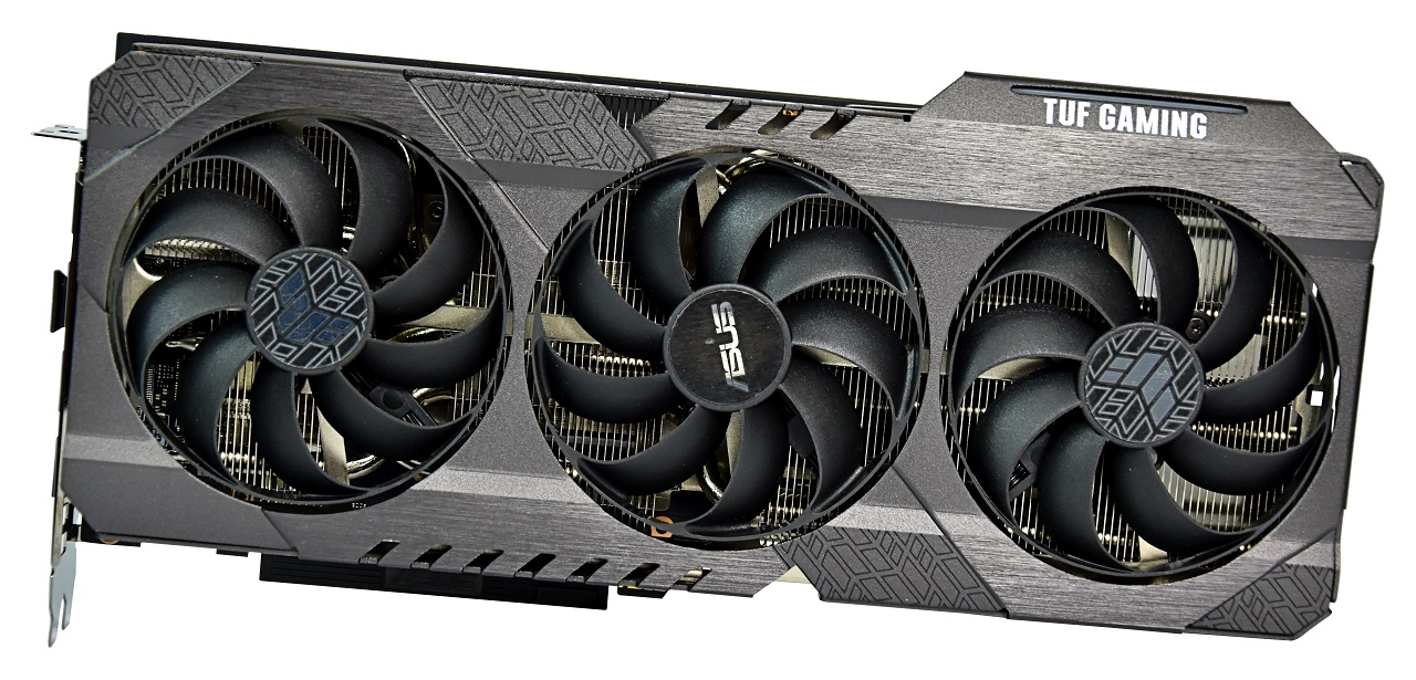 ASUS TUF GAMING GeForce RTX 3070 OC - front