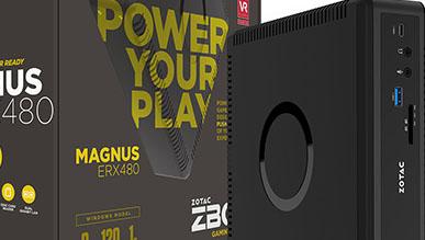 Zotac Magnus ERX480 - Mini PC z Radeonem RX 480