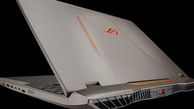 Asus ROG G701VI - smukły notebook z GTX 1080 i matrycą 120 Hz