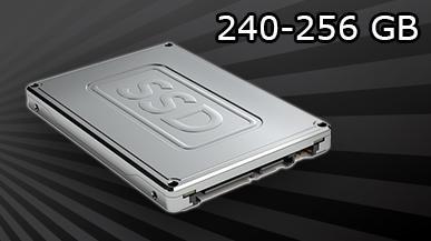 Test 5 dysków SSD 240 - 256 GB