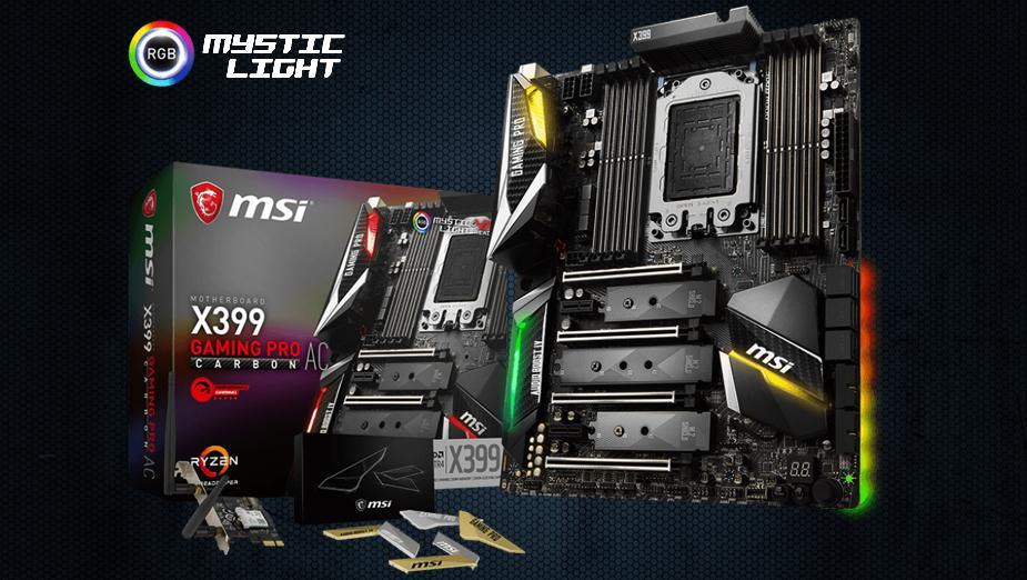 Test płyty głównej MSI X399 GAMING PRO CARBON AC
