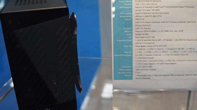 CeBIT 2016 - Deskmini H110M-STX, czyli miniaturowy barebone od AsRocka