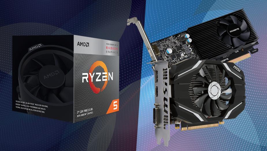 AMD Ryzen 5 3400G kontra niedrogie karty graficzne - test porównawczy