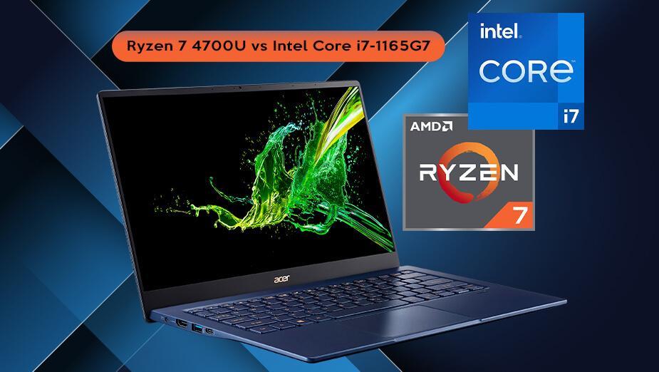 AMD Ryzen 7 4700U vs Intel Core i7-1165G7. Pojedynek procesorów mobilnych