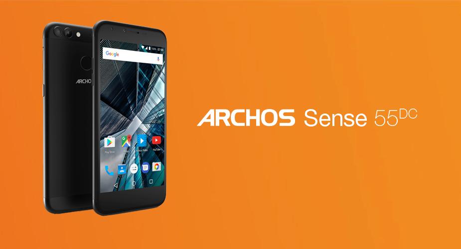 Archos Sense 55 DC – pierwszy w Polsce test