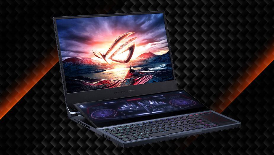 ASUS ROG Zephyrus Duo 15 (GX550L) - test innowacyjnego laptopa dla graczy z dodatkowym ekranem