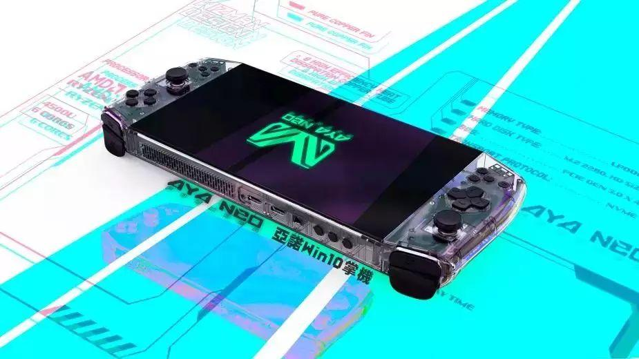 Aya Neo - handheld PC dostępny na Indiegogo. Ceny od 3000 zł wzwyż