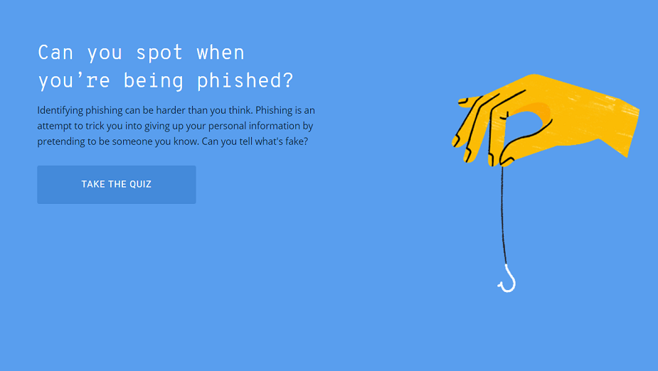 Co wiesz o phishingu? Google zaprasza do sprawdzenia swojej wiedzy
