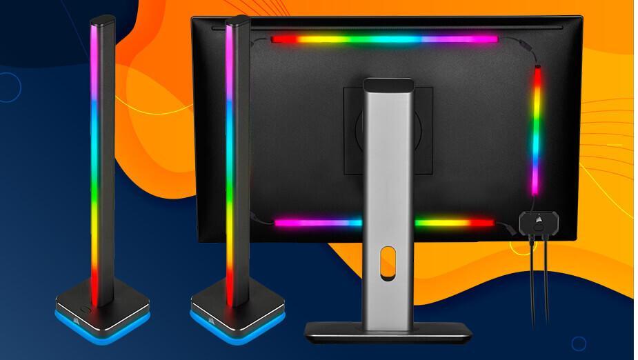 Corsair iCUE LT100 i LS100 - test podświetlanych gadżetów dla fanów RGB