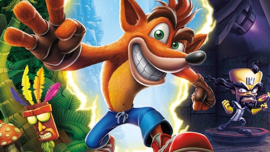 Crash Bandicoot N.Sane Trilogy ze świetnymi wynikami sprzedaży