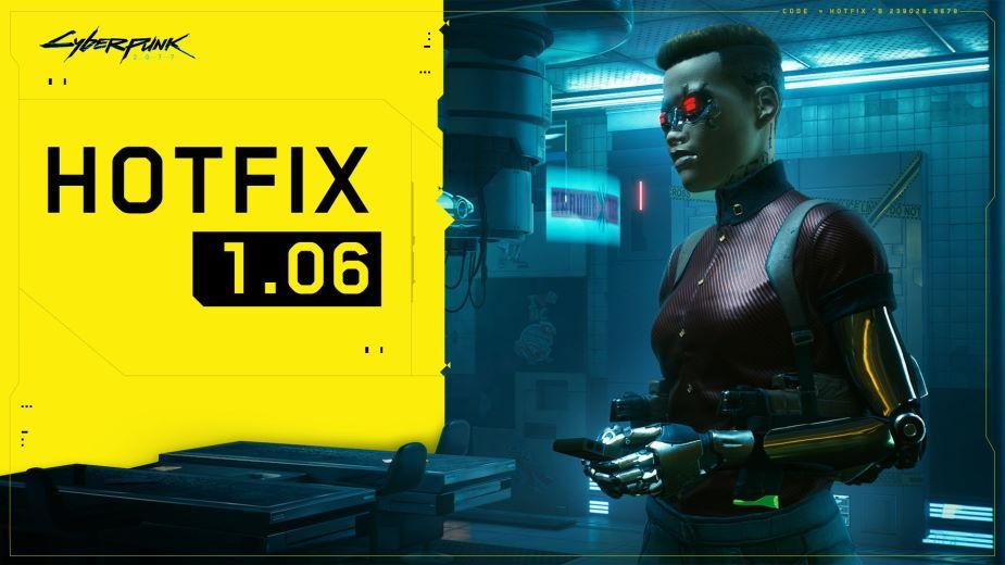 Cyberpunk 2077 – hotfix 1.06 już dostępny! Co poprawia?