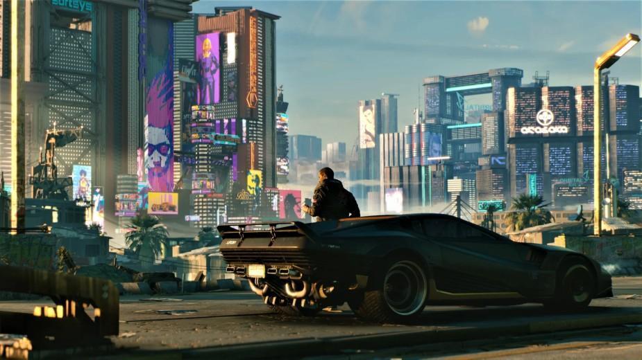 Cyberpunk 2077 wygląda całkiem nieźle z perspektywy trzeciej osoby