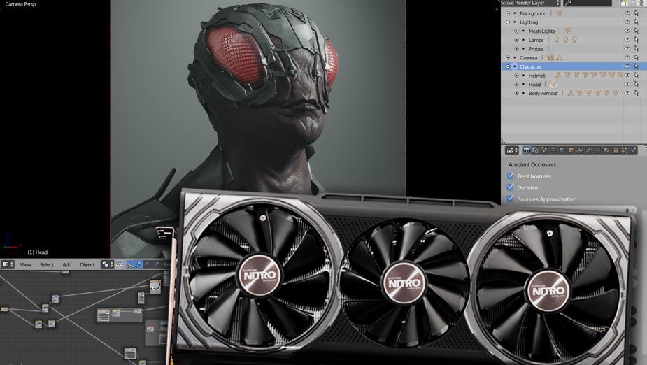 Czy rendering na GPU ma sens? Test wydajności kart graficznych w Blender