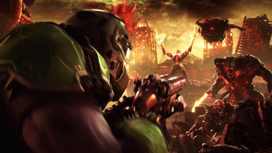 DOOM Eternal zaprezentowany na pierwszym gameplayu