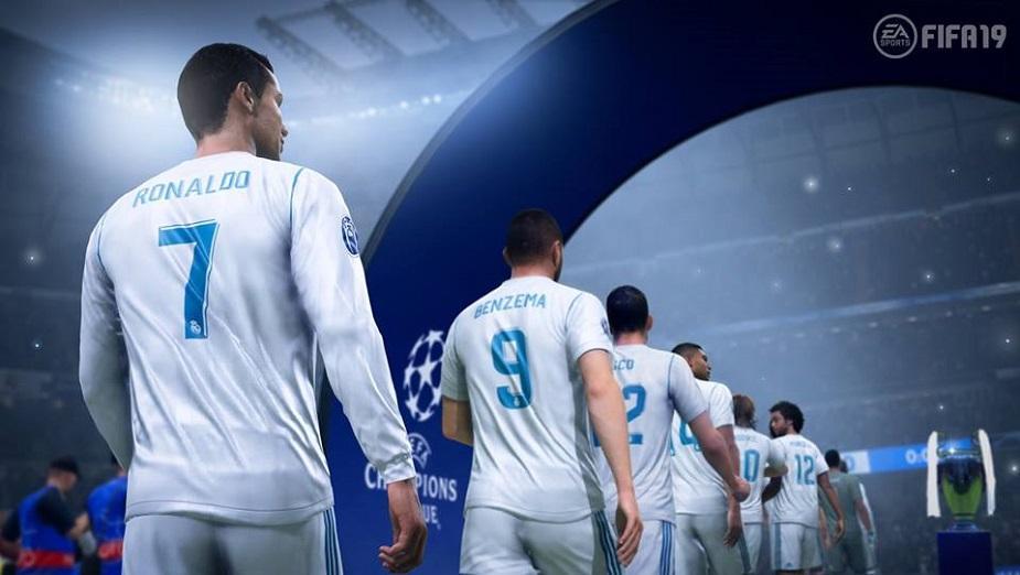 FIFA 19 oficjalnie z Ligą Mistrzów