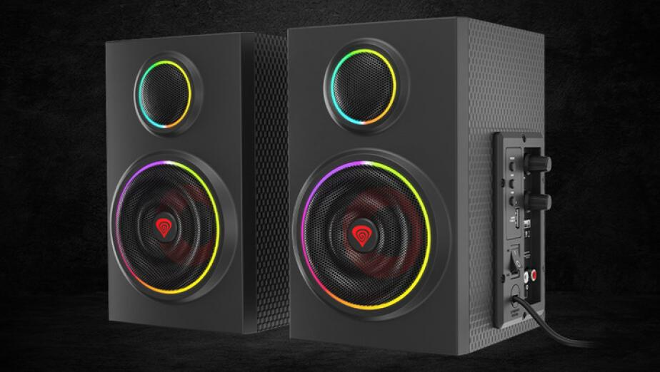 Genesis Helium 300BT - testujemy pierwsze głośniki ze wsparciem dla ARGB