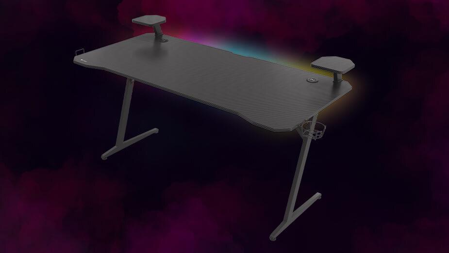 Genesis HOLM 510 RGB - recenzja zaskakująco funkcjonalnego biurka dla graczy
