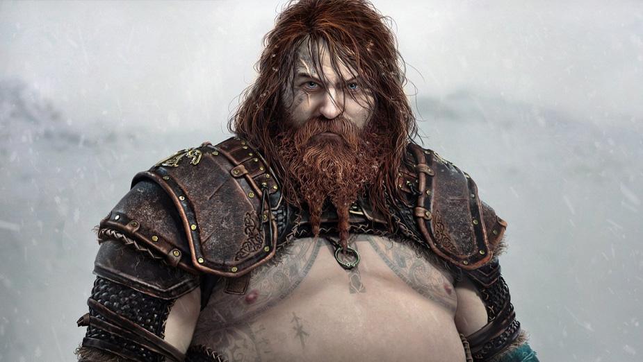 God of War: Ragnarok - gracze narzekają na czarny kolor skóry Angrbody i duży brzuch Thora