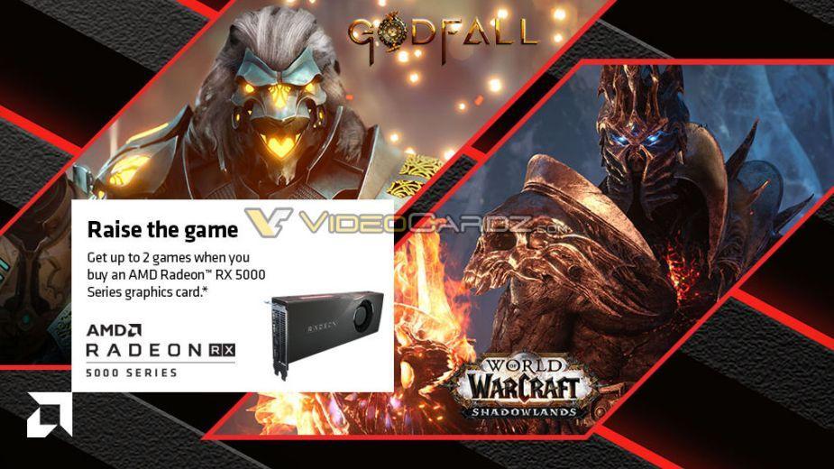 Godfall i WoW: Shadowlands wkrótce za darmo z kartami Radeon RX 5000