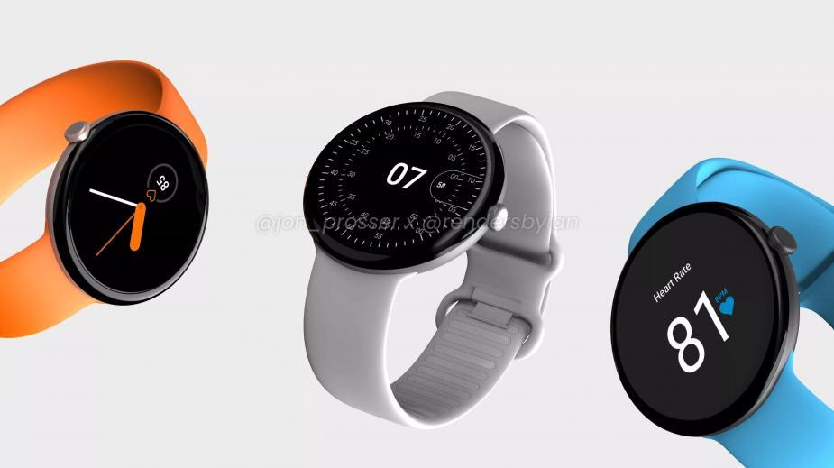 Google Pixel Watch zaprezentowany na renderach. Premiera coraz bliżej?