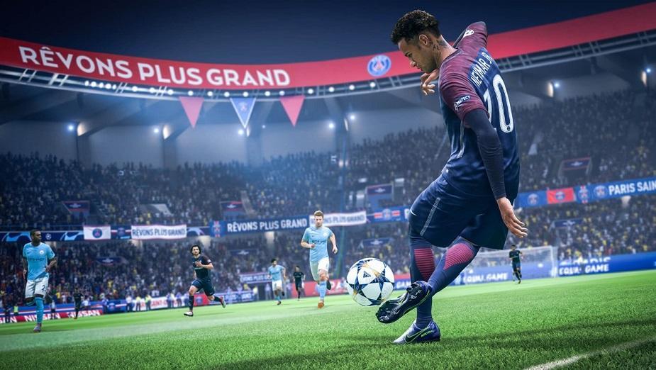 Gracze wolą mecz w FIFIE 19 od oglądania prawdziwych spotkań piłkarskich