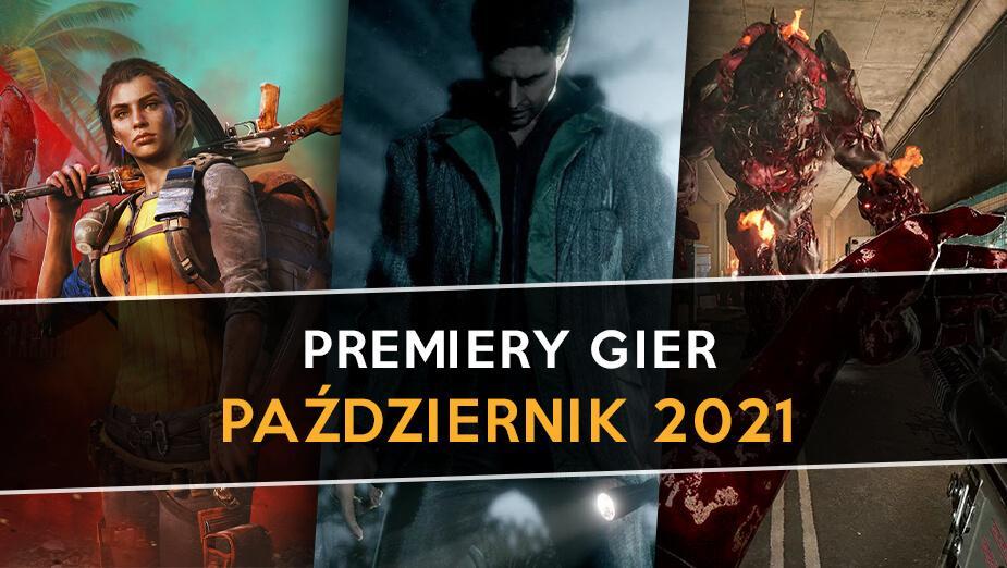 Najlepsze premiery gier - październik 2021