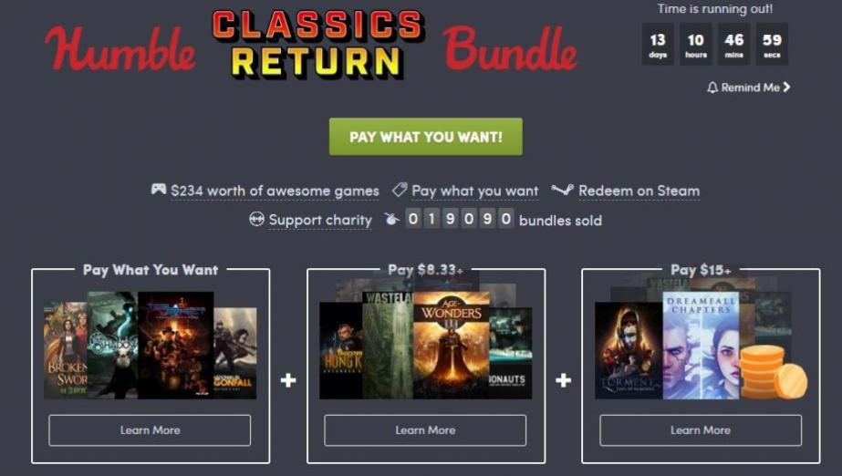 Humble Classics Return Bundle - kontynuacje klasyków w świetnej promocji