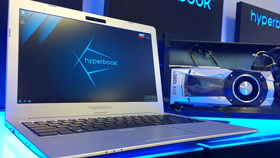 Hyperbook N13 – ultrabook, do którego podłączymy GeForce GTX 1080 Ti