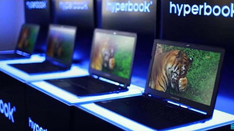 Hyperbook wprowadza laptopy z ósmą generacją procesorów Intela