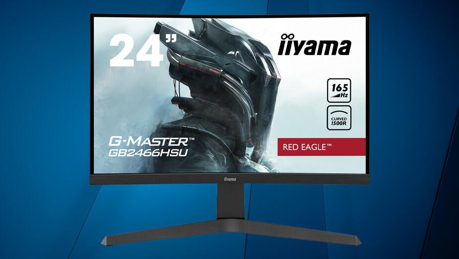 iiyama G-Master GB2466HSU-B1 Red Eagle - test zakrzywionego monitora VA 165 Hz