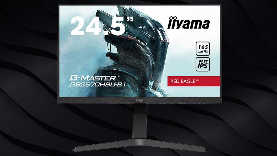 iiyama G-Master GB2570HSU-B1 Red Eagle - test monitora z e-sportowym zacięciem. Fast IPS + 165 Hz