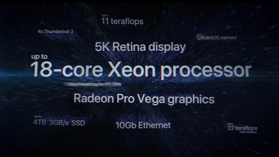 iMac Pro - 18-rdzeniowy Xeon, GPU Vega i odświeżone jednostki iMac
