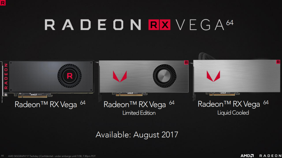 Karty graficzne Radeon RX Vega oficjalnie zapowiedziane przez AMD