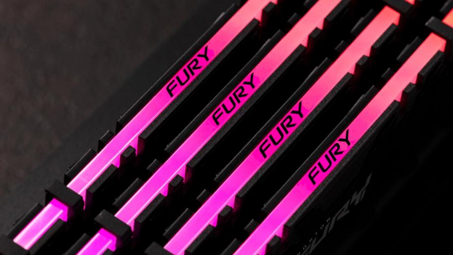 Kingston prezentuje nowe pamięci RAM z serii FURY Renegade, FURY Beast i FURY Impact