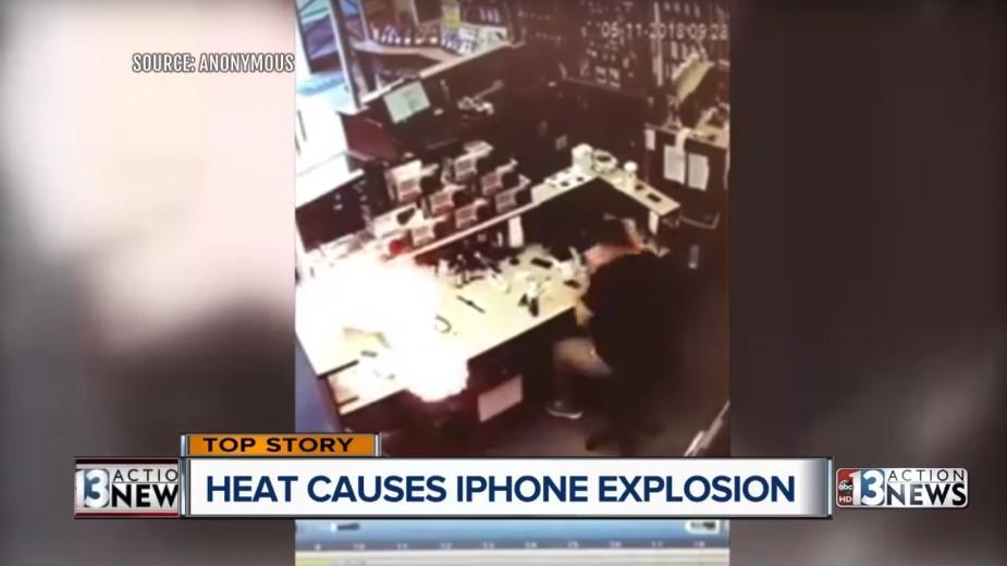 Kolejny iPhone samoczynnie wybuchł w serwisie