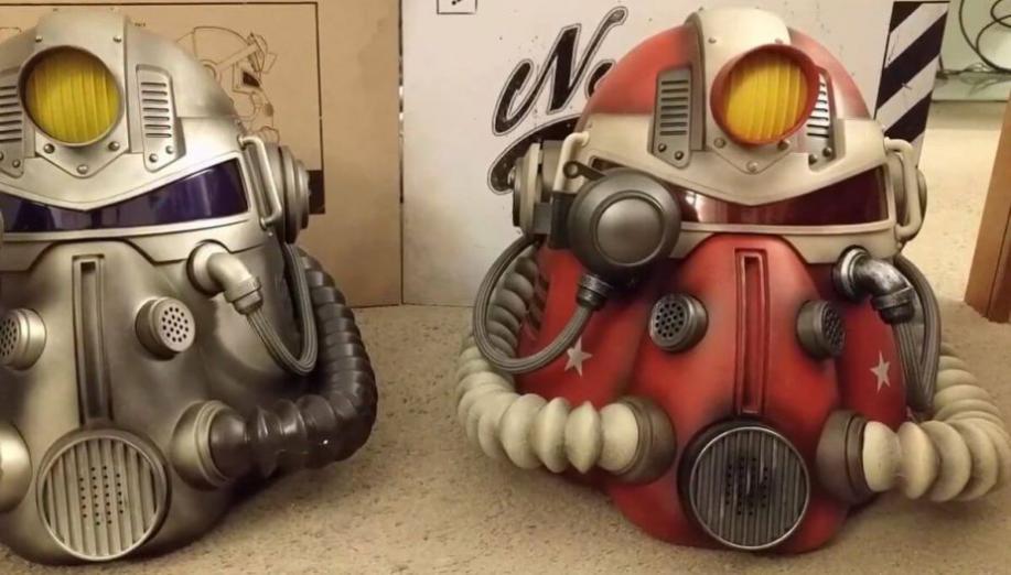 Kolekcjonerski hełm z Fallout 76 zagraża zdrowiu użytkowników