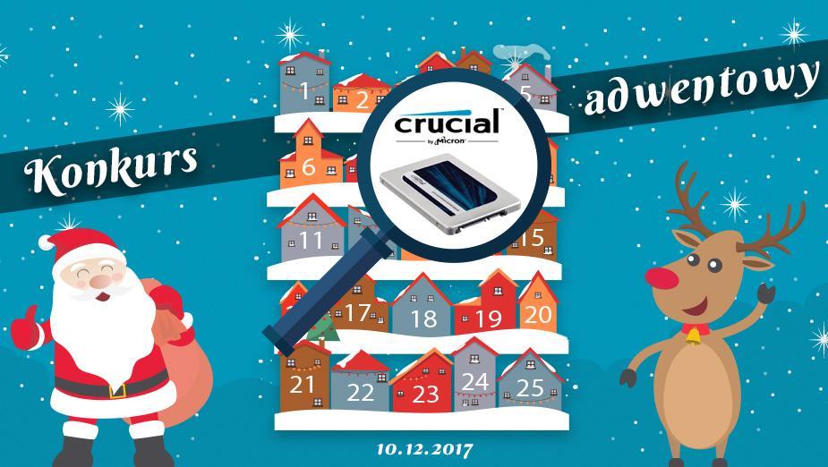 Konkurs Adwentowy 2017 - Dzień #10 Crucial/Alsen -Wyniki