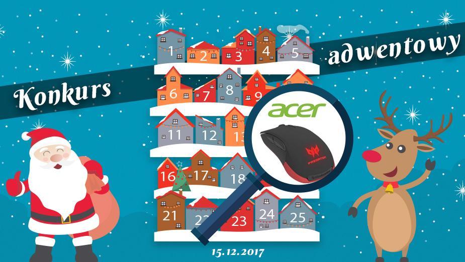 Konkurs Adwentowy 2017 - dzień #15 Acer -Wyniki
