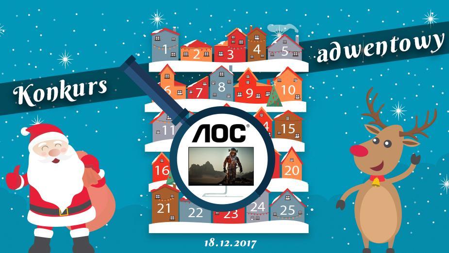 Konkurs Adwentowy 2017 - Dzień #18 AOC - Wyniki